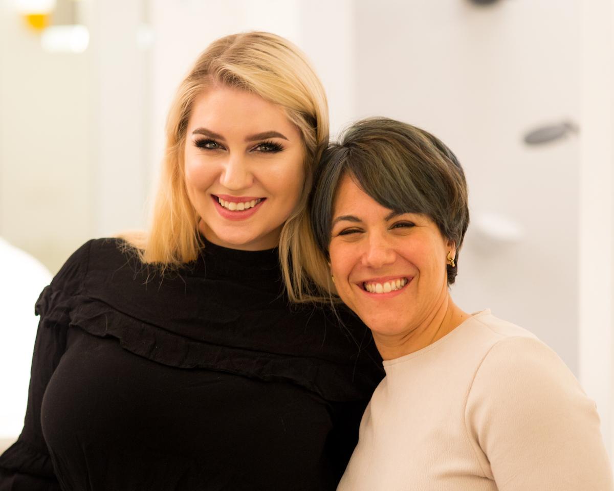 Ronni Glaser and Tess Leland