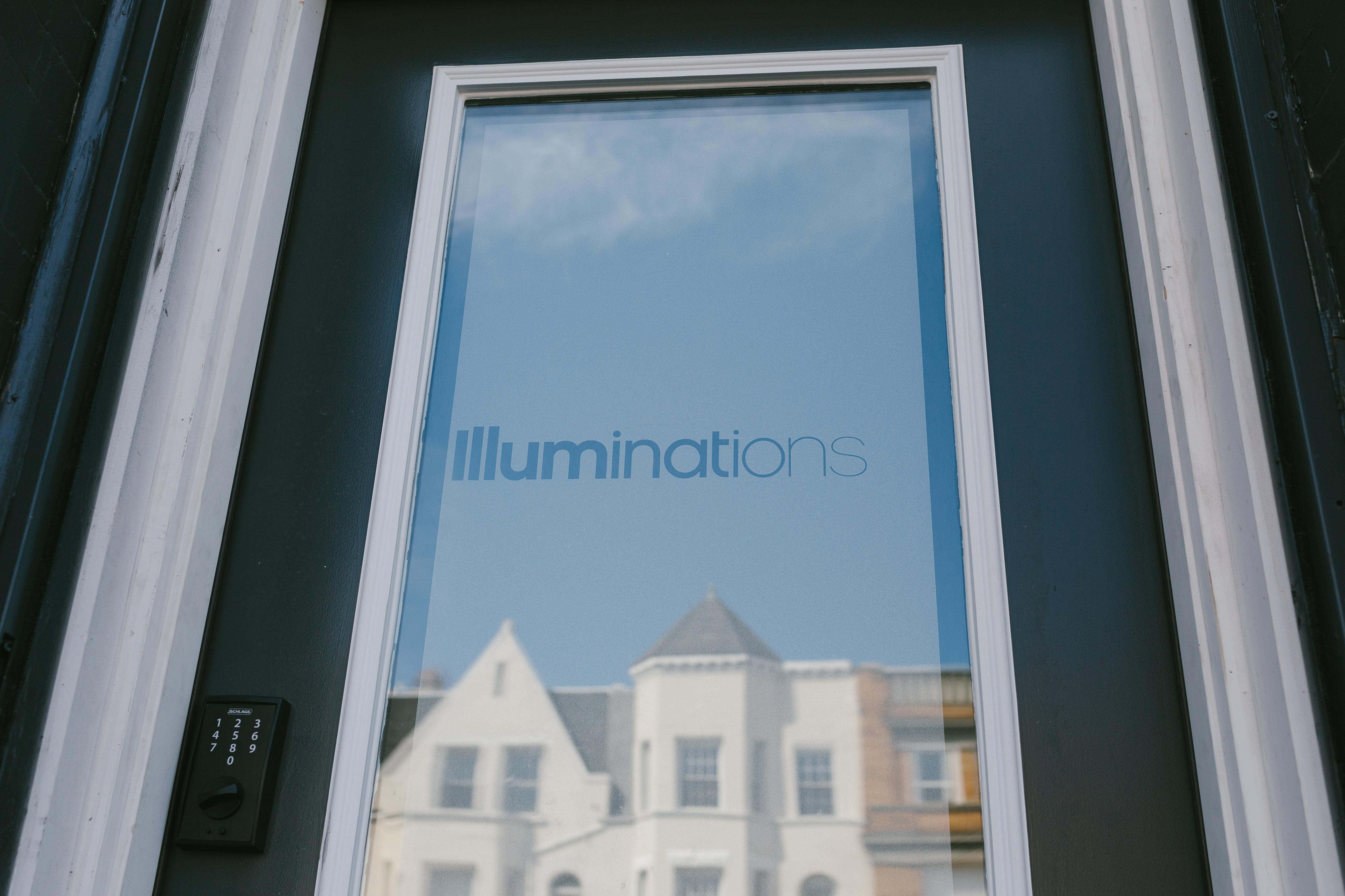 Illuminations front door